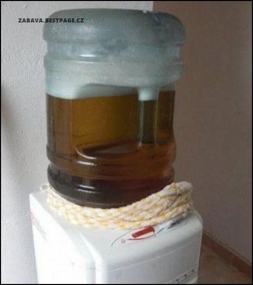 Pivo místo vody