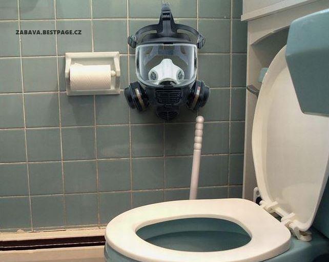 Povinná výbava na záchodě