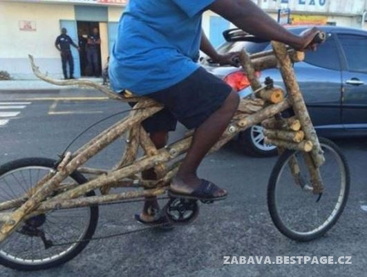Skvělé kolo ze dřeva