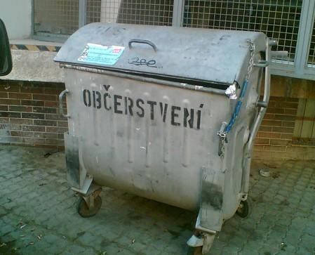 Kontejner - občerstvení