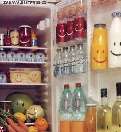 Úsměvná lednice