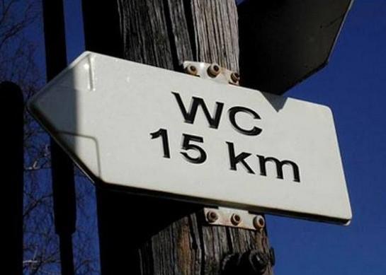 WC 15 kilometrů